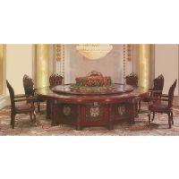 酒店电动圆桌自动圆桌大圆桌
