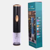 新款高档创意朔胶出口型外贸葡萄酒电动红酒开瓶器(干电池式)