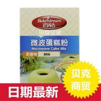 安琪百钻微波蛋糕预拌粉 奶香味 200克*30