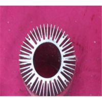 山东丛林生产及加工6063-T5铝合金太阳花散热器