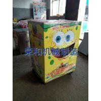 全自动糖画机 智能糖画机 糖人机 老北京糖画机 荣和机械