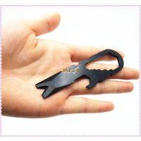 批发 随身EDC钥匙扣多功能工具 撬棍 一字起子 小工具钥匙扣订购