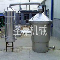 陕西苞谷酿酒设备价格 家庭酿酒用冷凝器 多功能制酒冷酒器图片 曲阜圣嘉机械