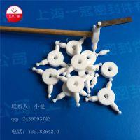 厂家定制特氟龙异型螺栓 上海一冠PTFE外六角螺丝