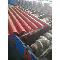 河北沧州兴益供应35-125-750型外墙横挂板压瓦机 彩钢瓦机