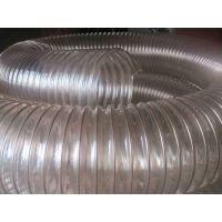 新疆鼎立350*0.9mm钢丝增强聚氨酯软管钢丝缠绕管