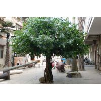 假榕树 供应销售玻璃钢材质仿真树 中庭观赏人造榕树