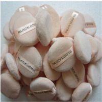 深圳同球厂家直售纯棉粉扑,不掉渣干湿两用 可来样定制