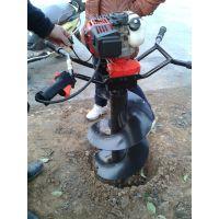 热销精选轻松高效汽油手提便携式植树挖坑机