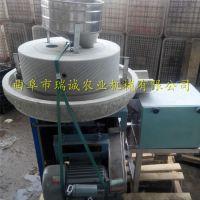 江西低温研磨石磨面粉机 天然砂岩石雕刻 粮食磨粉机