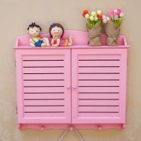 迷你宜家家居 厂家直销田园粉色空白叶遮挡电表箱 玄关挂饰电闸箱