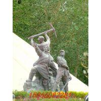 加工各种红色革命象征意义雕塑,石雕红军,井冈山雕塑