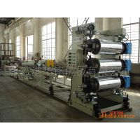 PVC、PC\PS\ABS塑料片材,装饰板材挤出生产线