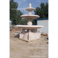 曲阳雕刻厂家加工花岗岩石雕欧式西式多层喷泉大理石