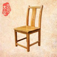 人体工学靠背椅 进口实木原木办公桌椅 榫卯结构纯手工制作可订做