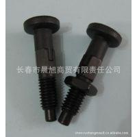 供应国产黑色镀锌钢粗牙分度销 自锁型分度销 NNK717-4-CK