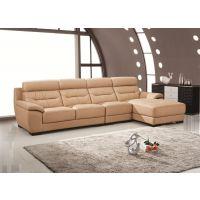 佛山盈冠家具沙发加工定制实木客厅简约组合真皮沙发