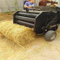 柴进YT70100麦秸专用打捆机增加揉丝器速度超快