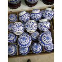 中药陶瓷密封罐批发 药丸陶瓷罐定制 景德镇储物罐厂家