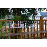 包邮!加大加粗铁艺窗台阳台种菜栏杆护栏悬挂式花盆架花架植物架