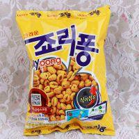 韩国进口膨化食品 可来运膨化麦粒89g/盒 16袋/箱 休闲零食 批发