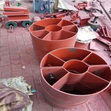 化工管道支吊架 A1U形螺栓 U形管夹 热镀锌 乾胜牌弹簧支吊架厂家