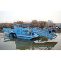 河北省沧州市水库购买的水草收割船