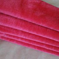 绒布价格便宜纬编涤纶96F 单面绒