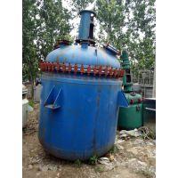 河北低价出售二手500升电加热搪瓷反应釜批发价格