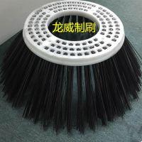 新品热销 扫路车钢丝圆盘刷 高质量不折断扁钢丝清扫刷盘