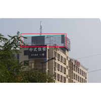 杭州石大路货运市场对面海川国际酒店楼顶大牌