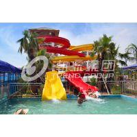 广州市水上乐园设备生产厂家螺旋滑梯
