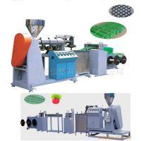 供应小型塑料硬网挤出机 塑料网机械 小型单螺杆挤出机