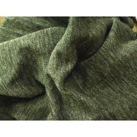 针织亚麻色纺汗布