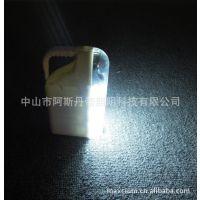 生产销售新款太阳能LED手提式户外探照灯,超搞亮手电筒,提灯