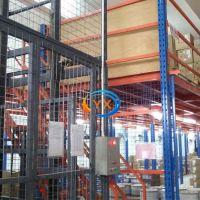 佛山钢结构阁楼多少钱一平方 钢结构阁楼定制组装货架