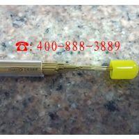 竹菱打孔机铜管、电极丝黄铜管 东莞铜管厂家 1.5*500mm 单孔黄铜管