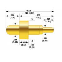供应 深圳新富城电子 BIP-1 电池针,连接器