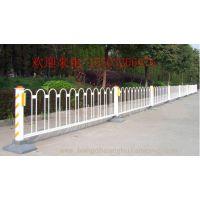 防护道路隔离栅 锌钢城市交通护栏 京式交通护栏