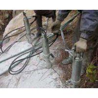 湖北十堰开采绿松石机械设备替代风镐免爆破机械迪戈液压分裂机