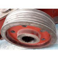 供应大连通用55L铸铁从动轮 大连诚丰密炼机皮带轮