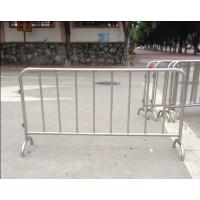 带广告牌活动铁马桂丰生产不锈钢材质价格