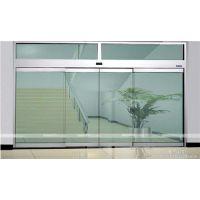 海珠区江海安装感应玻璃门,广州自动重叠门维修18027235186