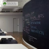 Magwall磁性黑板墙膜墙贴软黑板贴定制小贴纸涂鸦纸家用儿童教学