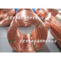 供应:C10200电缆专用紫铜线 T2耐高温紫铜线