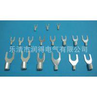 UT1.5-5冷压端子 线耳 U型叉形裸端子 每包 1000只