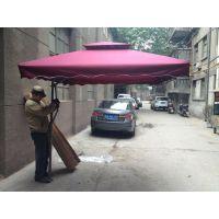 西安扳手伞 侧立侧边庭院伞 广告太阳伞印字批发