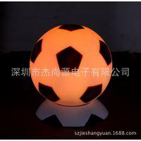 内设锂电池触摸变色氛围灯带万年历闹钟功能足球七彩灯