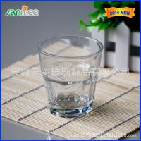 工厂供应玻璃水杯 八角玻璃杯 正多边形玻璃水杯