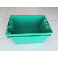 上海塑胶整理箱 带轮子周转箱上海 上海酒店用品周转箱